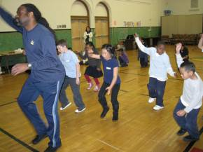 Mr. Mc Neal teaches at Rosa Parks Dance Club, SF