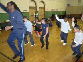 Mr. Mc Neal teaches at Rosa Parks Dance Club, SF