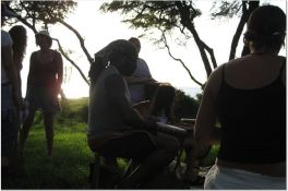 Drumming in Maui