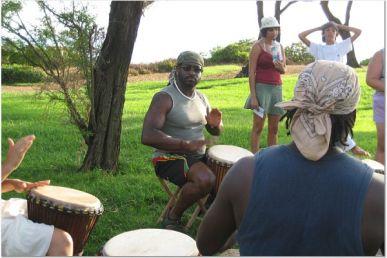 C drumming