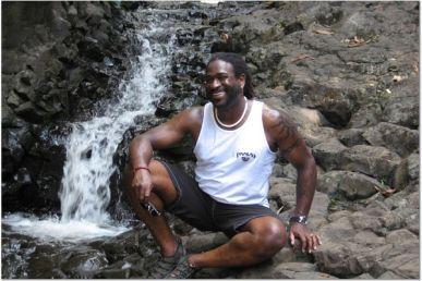 waterfall smile